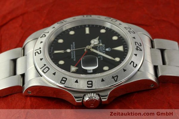 Used luxury watch Rolex Explorer II steel automatic Kal. 3185 Ref. 16570  | 151150 06