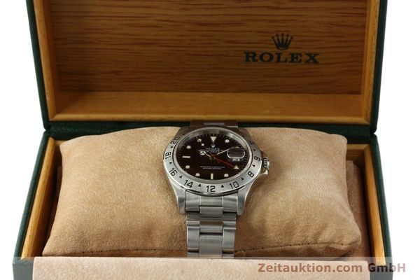 Used luxury watch Rolex Explorer II steel automatic Kal. 3185 Ref. 16570  | 151150 08