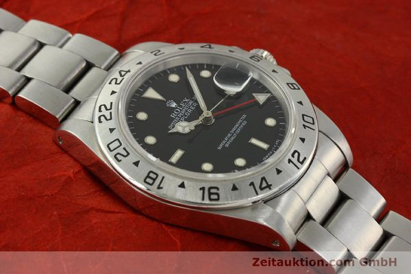 Used luxury watch Rolex Explorer II steel automatic Kal. 3185 Ref. 16570  | 151150 16