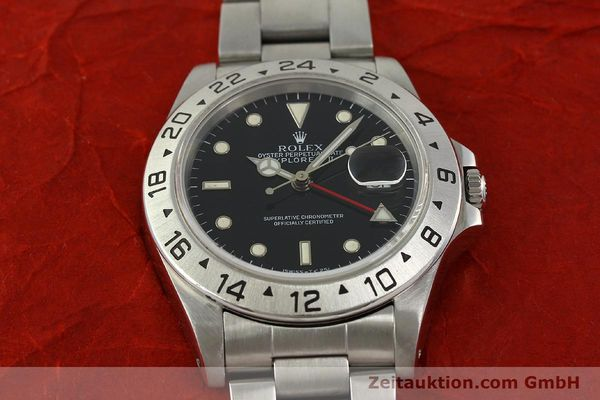Used luxury watch Rolex Explorer II steel automatic Kal. 3185 Ref. 16570  | 151150 17