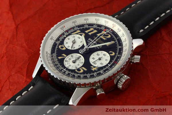 Used luxury watch Breitling Navitimer chronograph steel automatic Kal. B39 ETA 2892A2 Ref. A39022.1  | 151152 01