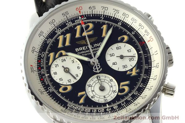 Used luxury watch Breitling Navitimer chronograph steel automatic Kal. B39 ETA 2892A2 Ref. A39022.1  | 151152 02