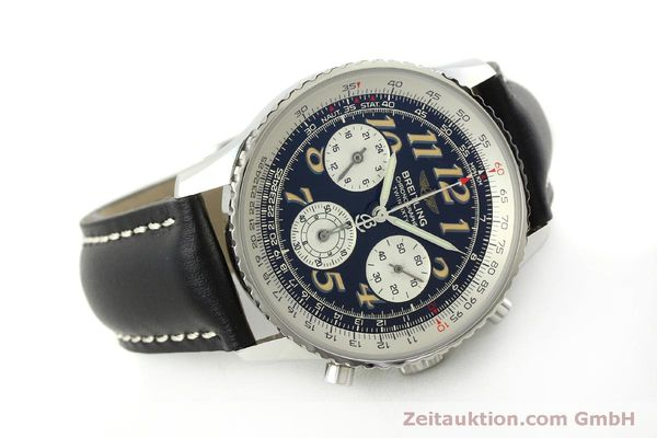 Used luxury watch Breitling Navitimer chronograph steel automatic Kal. B39 ETA 2892A2 Ref. A39022.1  | 151152 03