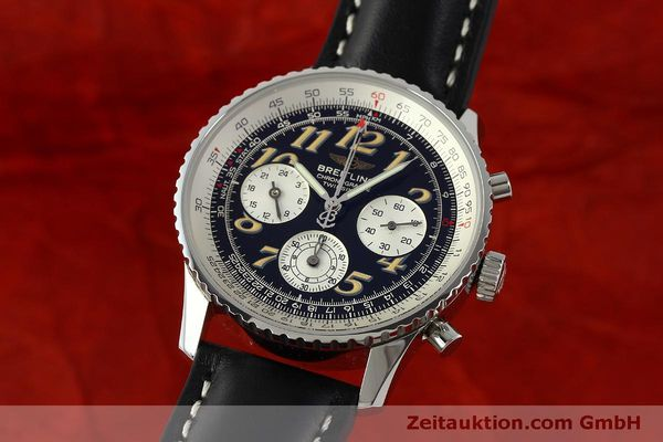 Used luxury watch Breitling Navitimer chronograph steel automatic Kal. B39 ETA 2892A2 Ref. A39022.1  | 151152 04