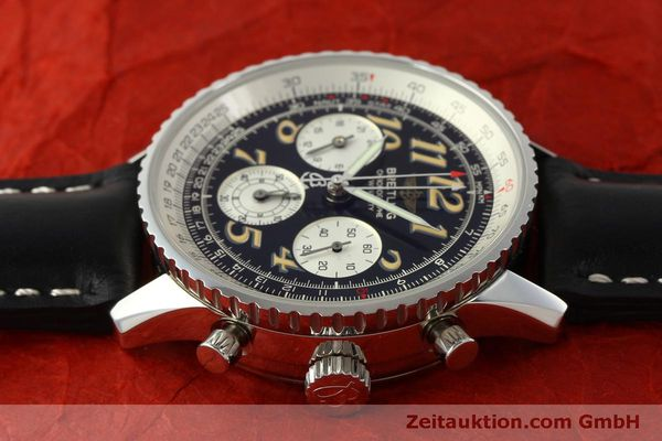 Used luxury watch Breitling Navitimer chronograph steel automatic Kal. B39 ETA 2892A2 Ref. A39022.1  | 151152 05