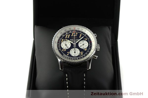 Used luxury watch Breitling Navitimer chronograph steel automatic Kal. B39 ETA 2892A2 Ref. A39022.1  | 151152 07