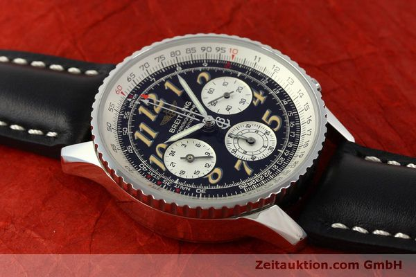 Used luxury watch Breitling Navitimer chronograph steel automatic Kal. B39 ETA 2892A2 Ref. A39022.1  | 151152 14