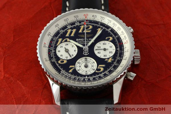 Used luxury watch Breitling Navitimer chronograph steel automatic Kal. B39 ETA 2892A2 Ref. A39022.1  | 151152 15