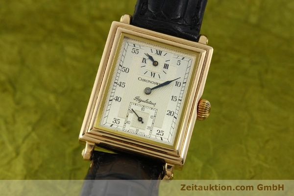 gebrauchte Luxusuhr Chronoswiss Regulateur 18k Gold Handaufzug Ref. CH2951  | 151155 04