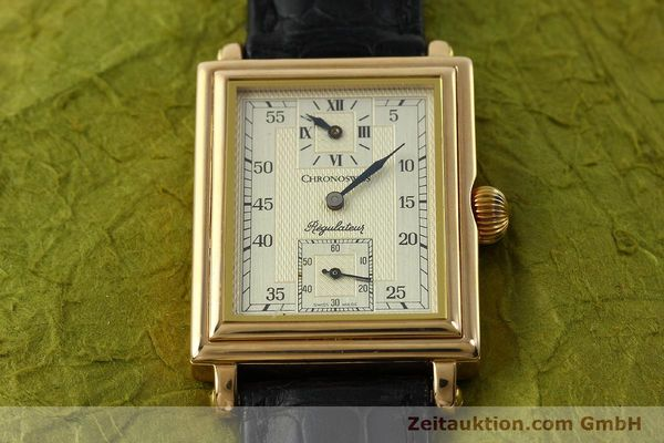 gebrauchte Luxusuhr Chronoswiss Regulateur 18k Gold Handaufzug Ref. CH2951  | 151155 16