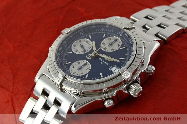 Used luxury watch Breitling Chronomat chronograph steel automatic Kal. B13 ETA 7750 Ref. A13050  | 151164 01