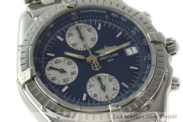 Used luxury watch Breitling Chronomat chronograph steel automatic Kal. B13 ETA 7750 Ref. A13050  | 151164 02