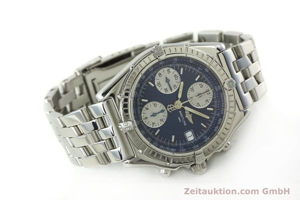 Used luxury watch Breitling Chronomat chronograph steel automatic Kal. B13 ETA 7750 Ref. A13050  | 151164 03