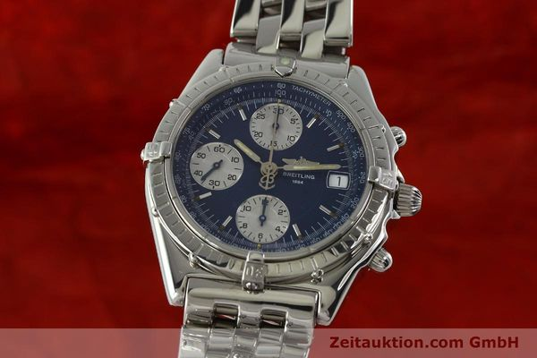 Used luxury watch Breitling Chronomat chronograph steel automatic Kal. B13 ETA 7750 Ref. A13050  | 151164 04