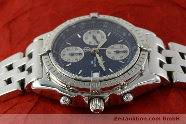 Used luxury watch Breitling Chronomat chronograph steel automatic Kal. B13 ETA 7750 Ref. A13050  | 151164 05
