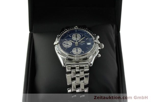 Used luxury watch Breitling Chronomat chronograph steel automatic Kal. B13 ETA 7750 Ref. A13050  | 151164 07