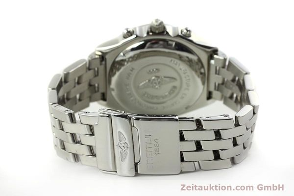 Used luxury watch Breitling Chronomat chronograph steel automatic Kal. B13 ETA 7750 Ref. A13050  | 151164 11