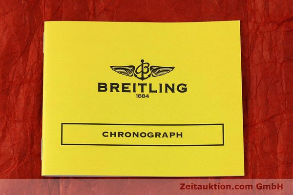 Used luxury watch Breitling Chronomat chronograph steel automatic Kal. B13 ETA 7750 Ref. A13050  | 151164 12
