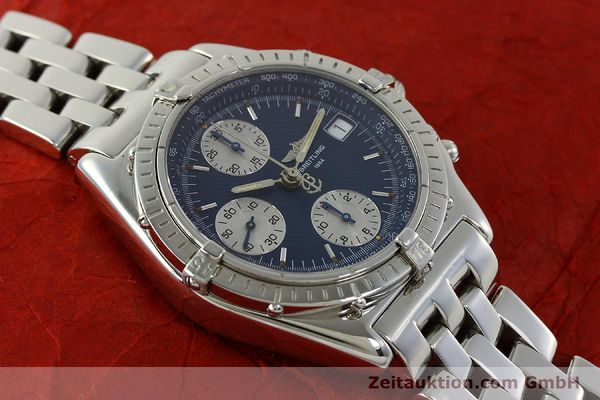 Used luxury watch Breitling Chronomat chronograph steel automatic Kal. B13 ETA 7750 Ref. A13050  | 151164 15