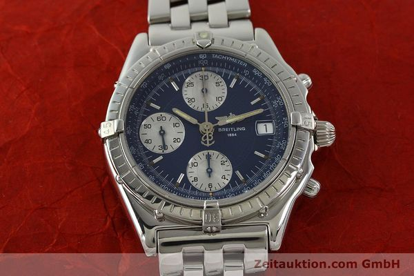 Used luxury watch Breitling Chronomat chronograph steel automatic Kal. B13 ETA 7750 Ref. A13050  | 151164 16