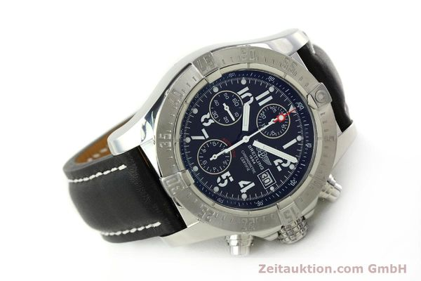 Used luxury watch Breitling Avenger chronograph steel automatic Kal. B13 ETA 7750 Ref. A13380  | 151165 03