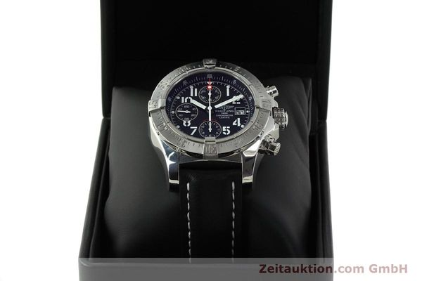 Used luxury watch Breitling Avenger chronograph steel automatic Kal. B13 ETA 7750 Ref. A13380  | 151165 07