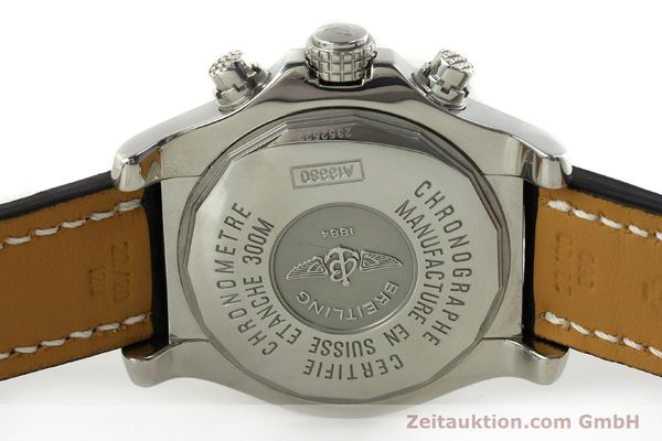 Used luxury watch Breitling Avenger chronograph steel automatic Kal. B13 ETA 7750 Ref. A13380  | 151165 09