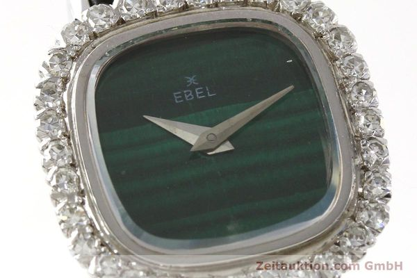 Used luxury watch Ebel * 18 ct white gold manual winding Kal. ETA 2419  | 151169 02