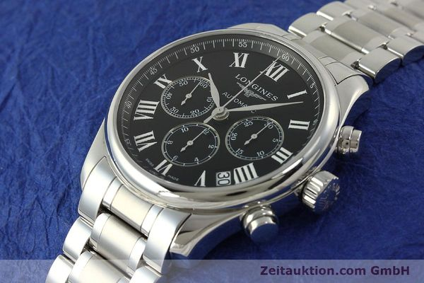 Used luxury watch Longines Master Collection chronograph steel automatic Kal. L696.2 ETA A07231 Ref. L2.693.4  | 151170 01