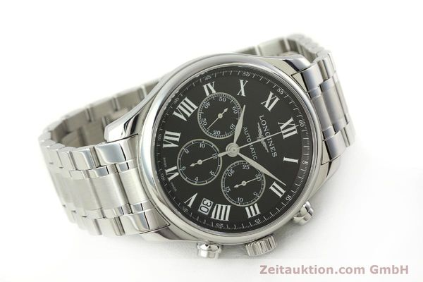Used luxury watch Longines Master Collection chronograph steel automatic Kal. L696.2 ETA A07231 Ref. L2.693.4  | 151170 03