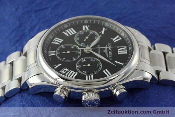 Used luxury watch Longines Master Collection chronograph steel automatic Kal. L696.2 ETA A07231 Ref. L2.693.4  | 151170 05