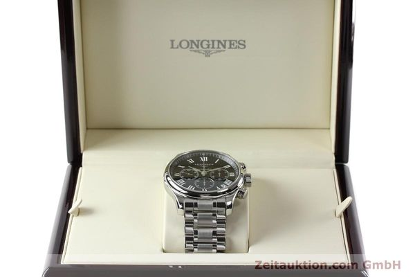montre de luxe d occasion Longines Master Collection chronographe acier automatique Kal. L696.2 ETA A07231 Ref. L2.693.4  | 151170 07