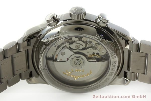 Used luxury watch Longines Master Collection chronograph steel automatic Kal. L696.2 ETA A07231 Ref. L2.693.4  | 151170 09