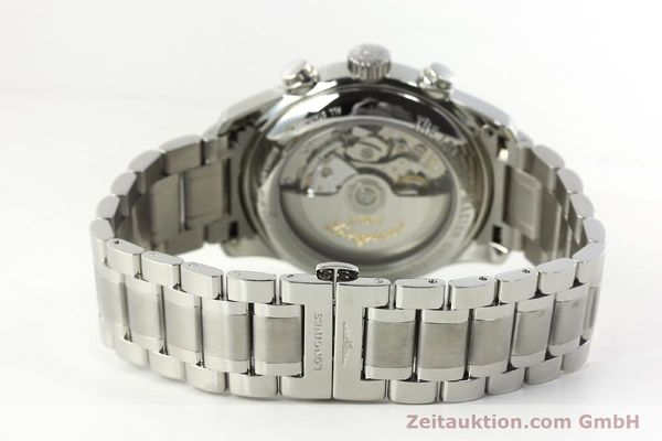 Used luxury watch Longines Master Collection chronograph steel automatic Kal. L696.2 ETA A07231 Ref. L2.693.4  | 151170 12