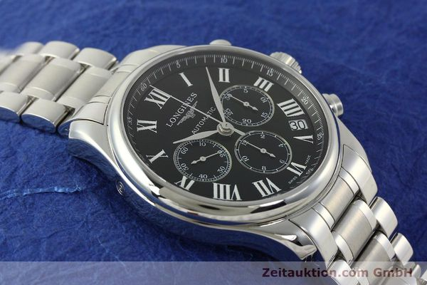 Used luxury watch Longines Master Collection chronograph steel automatic Kal. L696.2 ETA A07231 Ref. L2.693.4  | 151170 16