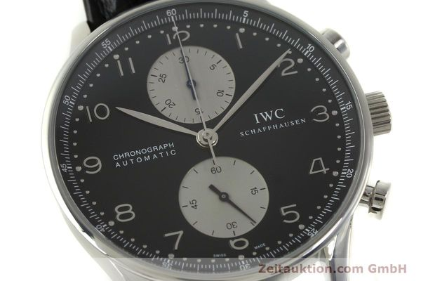 Used luxury watch IWC Portugieser chronograph steel automatic Kal. 79240 Ref. 3714  | 151171 02