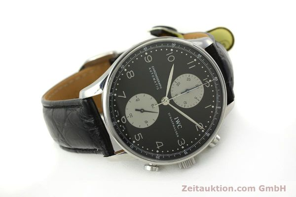 Used luxury watch IWC Portugieser chronograph steel automatic Kal. 79240 Ref. 3714  | 151171 03