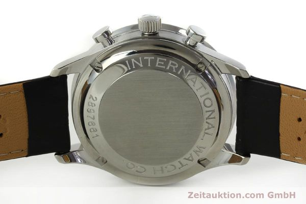 Used luxury watch IWC Portugieser chronograph steel automatic Kal. 79240 Ref. 3714  | 151171 09