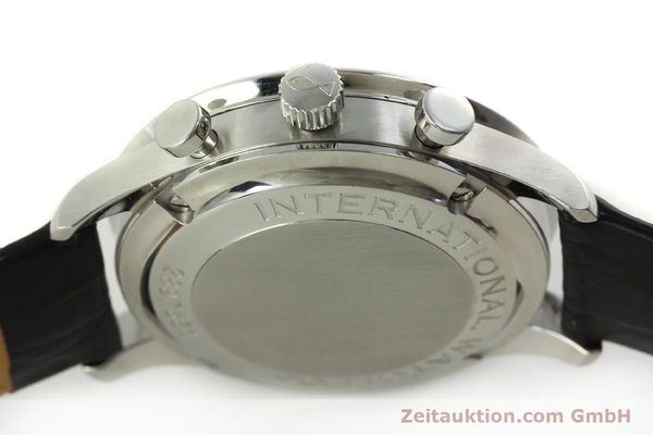 Used luxury watch IWC Portugieser chronograph steel automatic Kal. 79240 Ref. 3714  | 151171 12