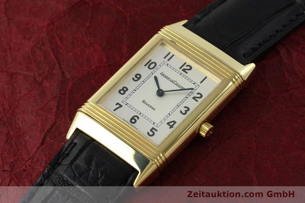 Used luxury watch Jaeger Le Coultre Reverso 18 ct gold manual winding Kal. 846 Ref. 250.1.86  | 151172 01