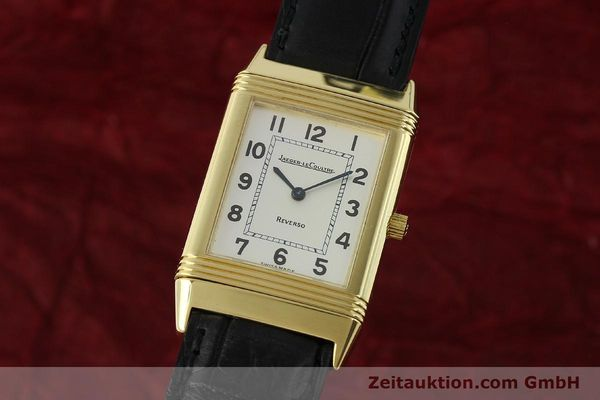 Used luxury watch Jaeger Le Coultre Reverso 18 ct gold manual winding Kal. 846 Ref. 250.1.86  | 151172 04