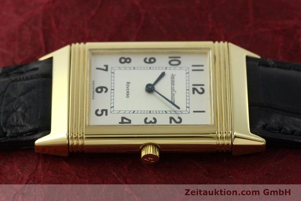 Used luxury watch Jaeger Le Coultre Reverso 18 ct gold manual winding Kal. 846 Ref. 250.1.86  | 151172 05