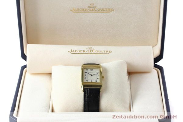 Used luxury watch Jaeger Le Coultre Reverso 18 ct gold manual winding Kal. 846 Ref. 250.1.86  | 151172 07