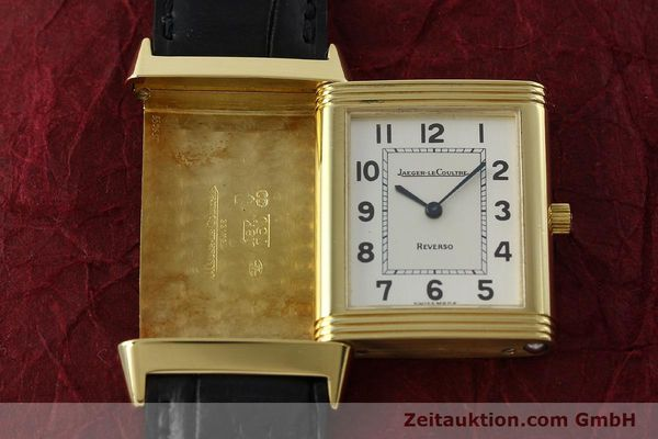 Used luxury watch Jaeger Le Coultre Reverso 18 ct gold manual winding Kal. 846 Ref. 250.1.86  | 151172 14