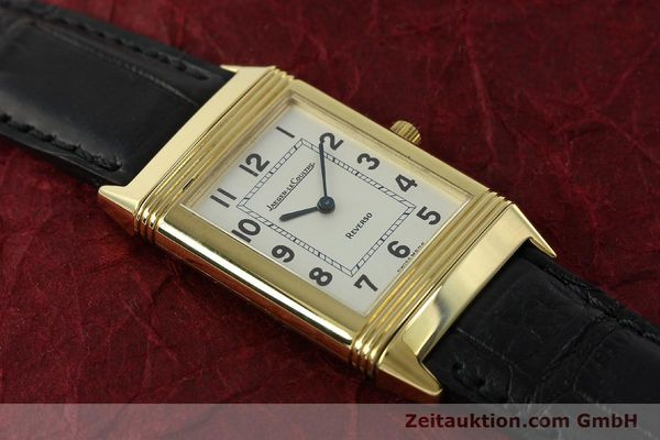 Used luxury watch Jaeger Le Coultre Reverso 18 ct gold manual winding Kal. 846 Ref. 250.1.86  | 151172 15