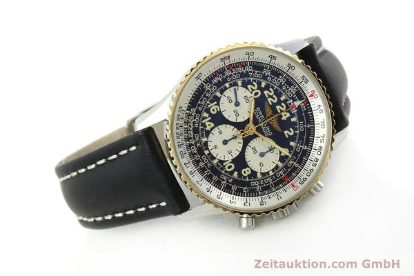 Used luxury watch Breitling Navitimer chronograph steel / gold automatic Kal. LWO 1873 Ref. D12022  | 151173 03