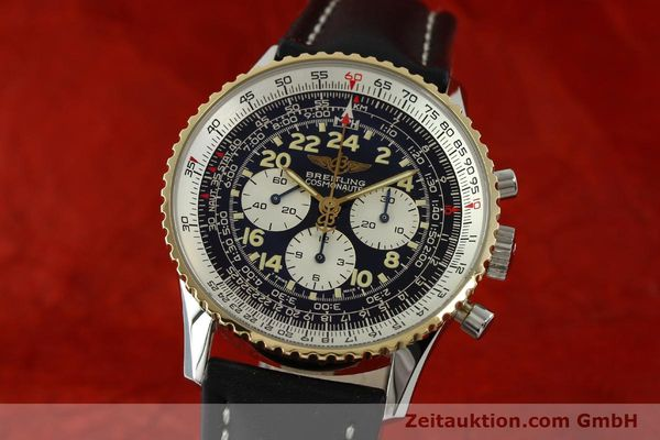 Used luxury watch Breitling Navitimer chronograph steel / gold automatic Kal. LWO 1873 Ref. D12022  | 151173 04