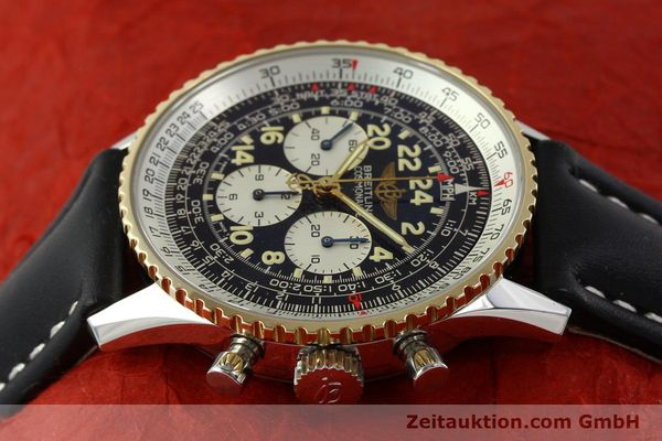 Used luxury watch Breitling Navitimer chronograph steel / gold automatic Kal. LWO 1873 Ref. D12022  | 151173 05