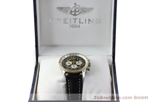 Used luxury watch Breitling Navitimer chronograph steel / gold automatic Kal. LWO 1873 Ref. D12022  | 151173 07