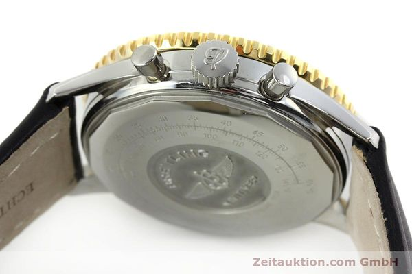 Used luxury watch Breitling Navitimer chronograph steel / gold automatic Kal. LWO 1873 Ref. D12022  | 151173 11